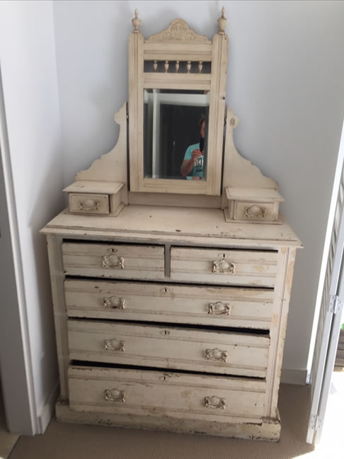 Antique Dressing Table-beofre