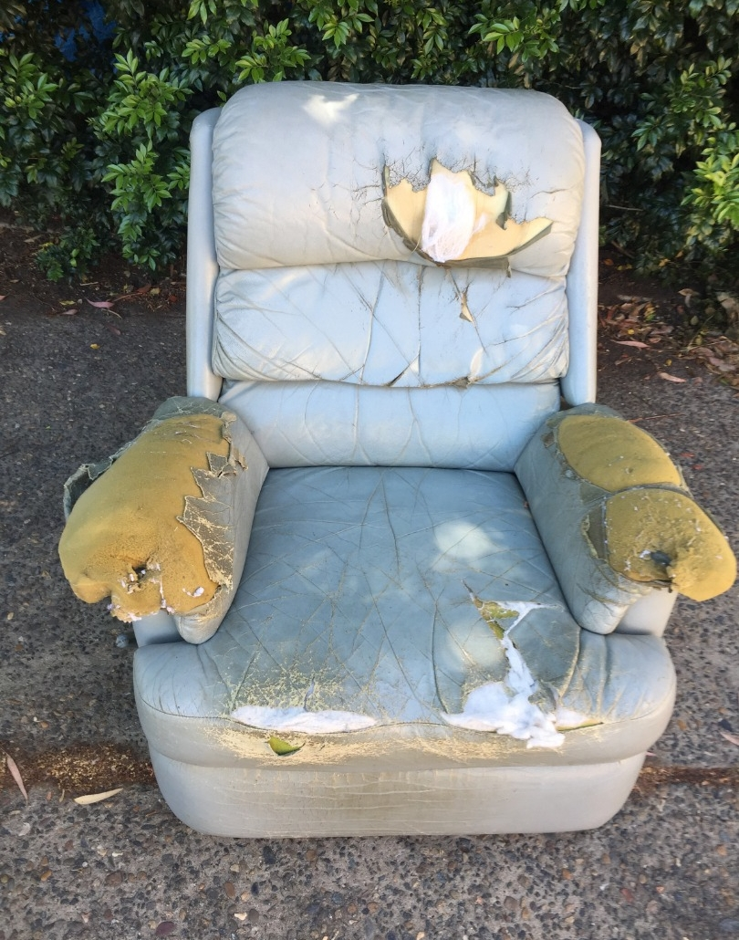 Before - Moran Recliner Restoration
